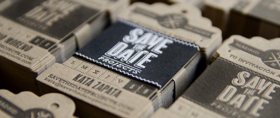 Brandiing tarjetas de visita y logo by Save the Date Projects