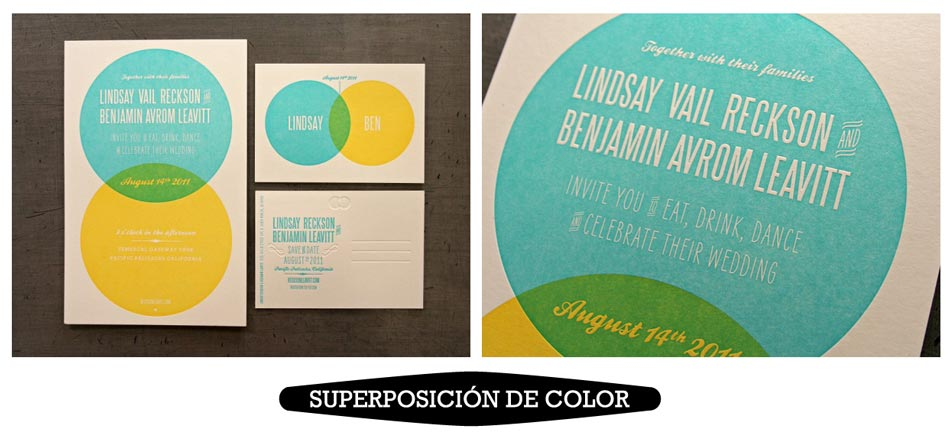 Superposicion-de-colores-letterpress-para-invitaciones-de-boda-unicas