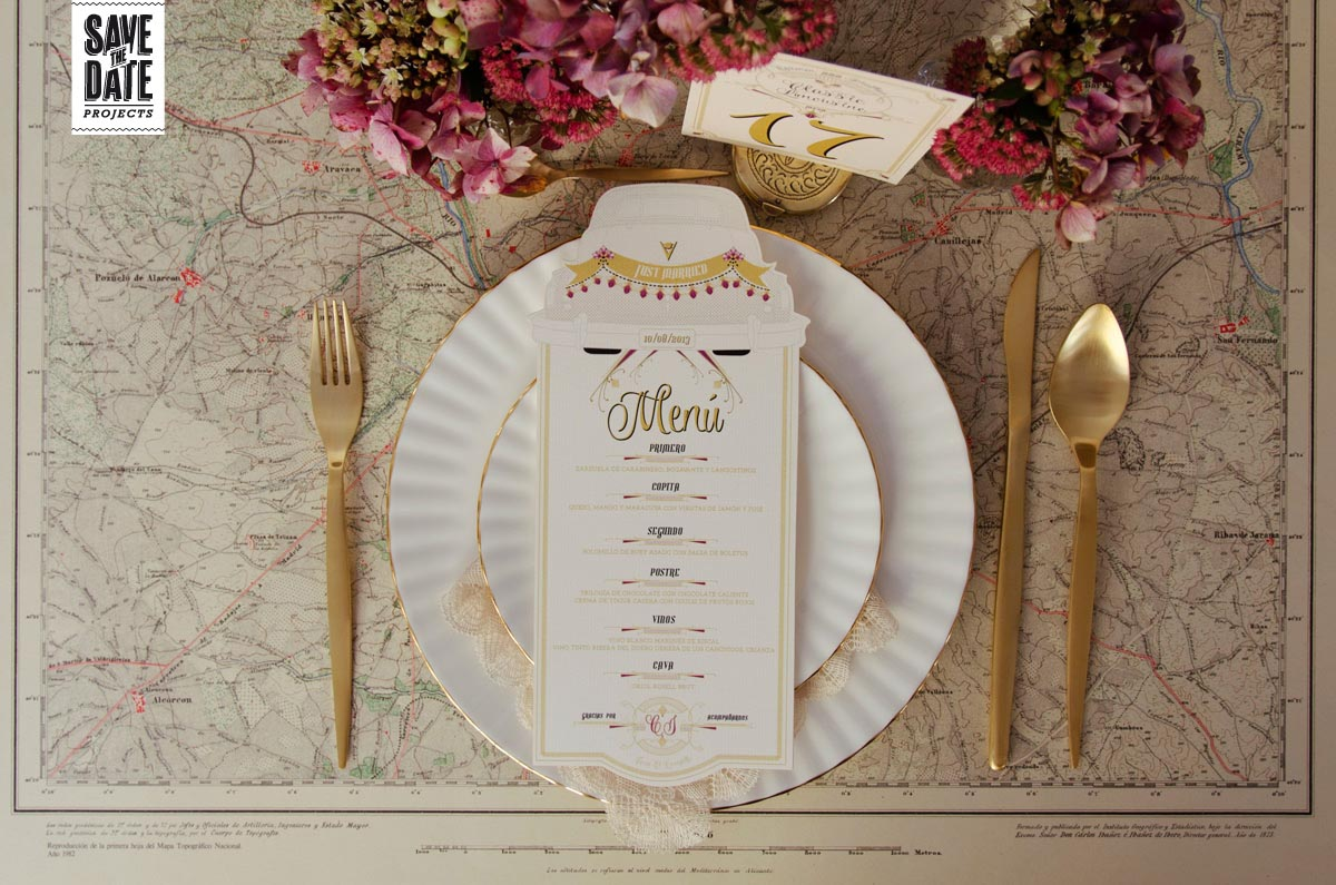 Menu-minutas-de-boda-personalizadas-troquel-laser-Save-the-date-projects.
