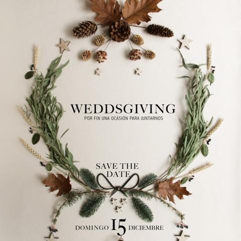 Diseño gráfico para eventos - Weddsgiving