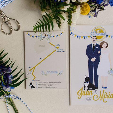 Invitacion-de-boda-para-Bodas-de-cuento-con-ilustraciones-de-los-novios-1