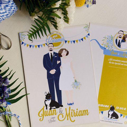 Invitacion-de-boda-para-Bodas-de-cuento-con-ilustraciones-de-los-novios-2