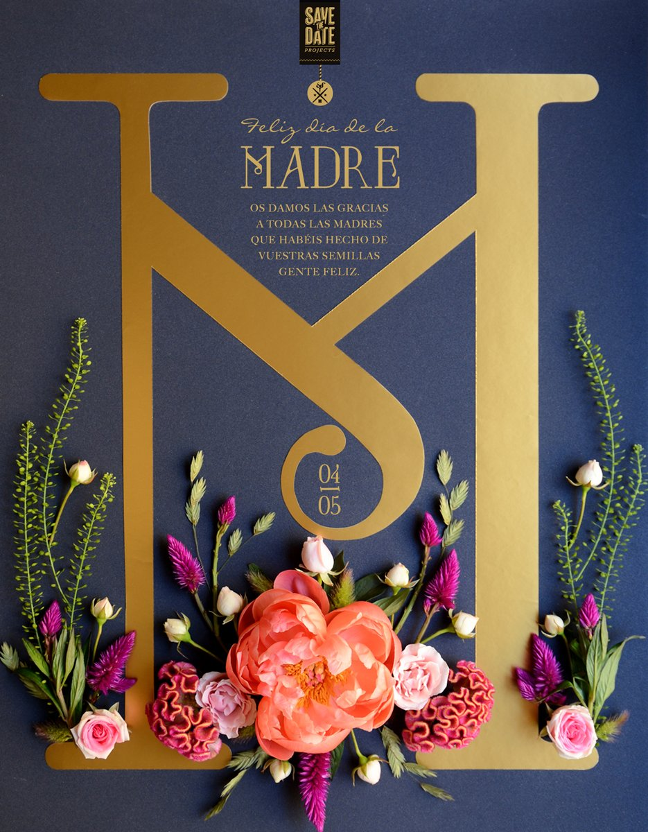 POSTER-dia-de-la-madre by Save the date projects.