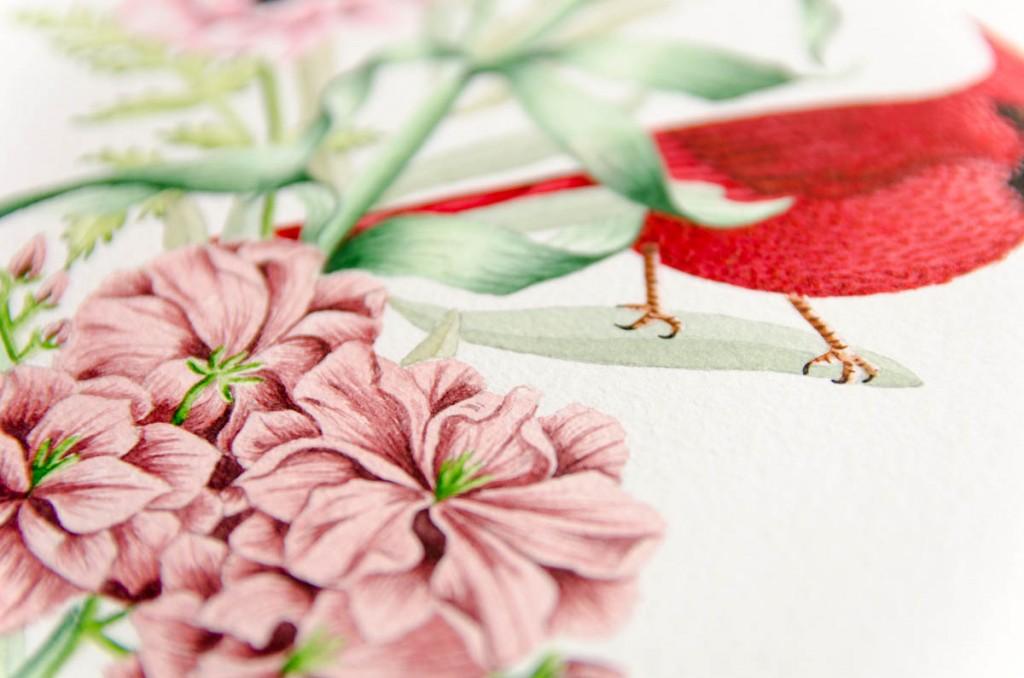 Dibujo-Acuarela-Original-Detalle-Flores