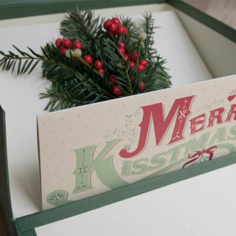 Recordatorios navideño personalizado para Colorín COlorado