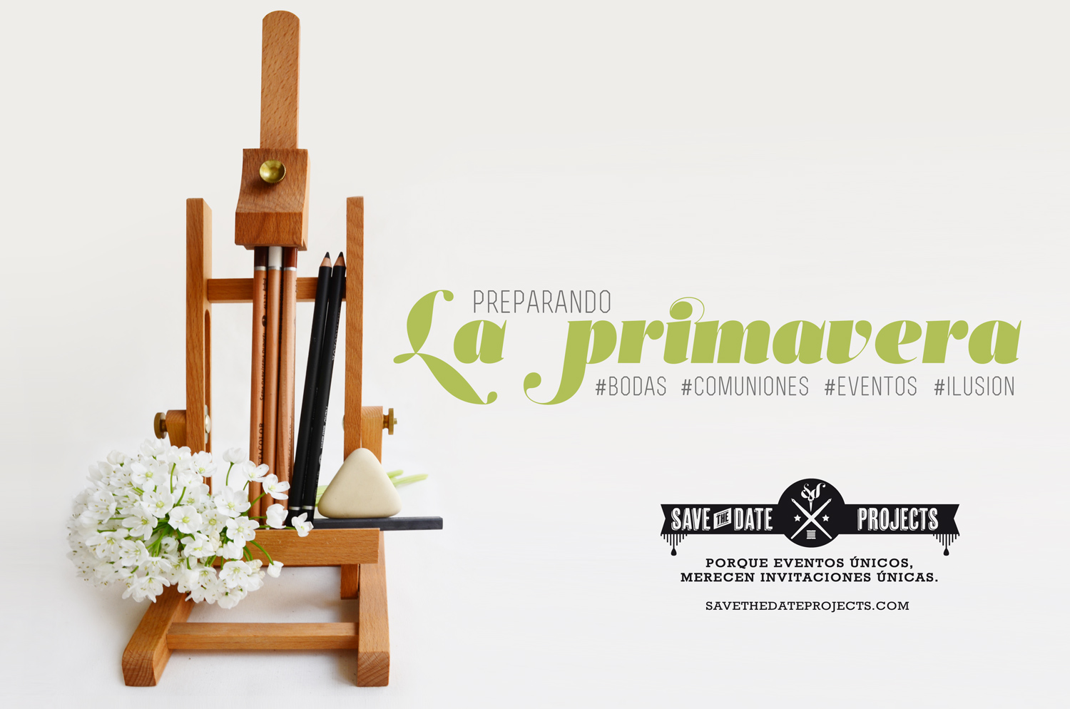 Save the date projects y la primavera