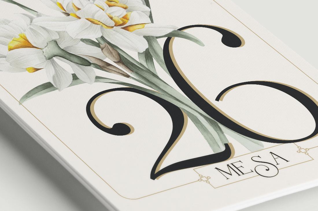 N meros de mesa boda - Boutique free angouleme numero ...