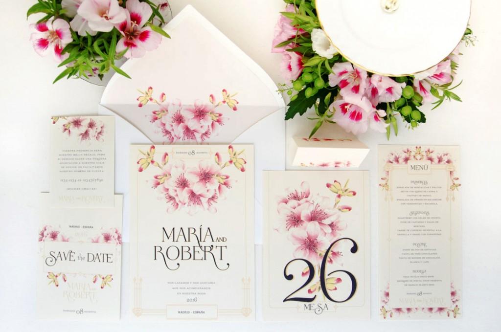 Invitaciones de boda románticas-5109
