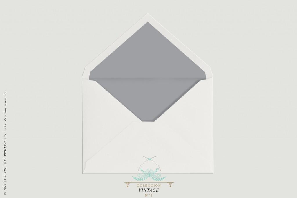 SOBRE-BLANCO-FORRO-GRIS-invitacion-vintage