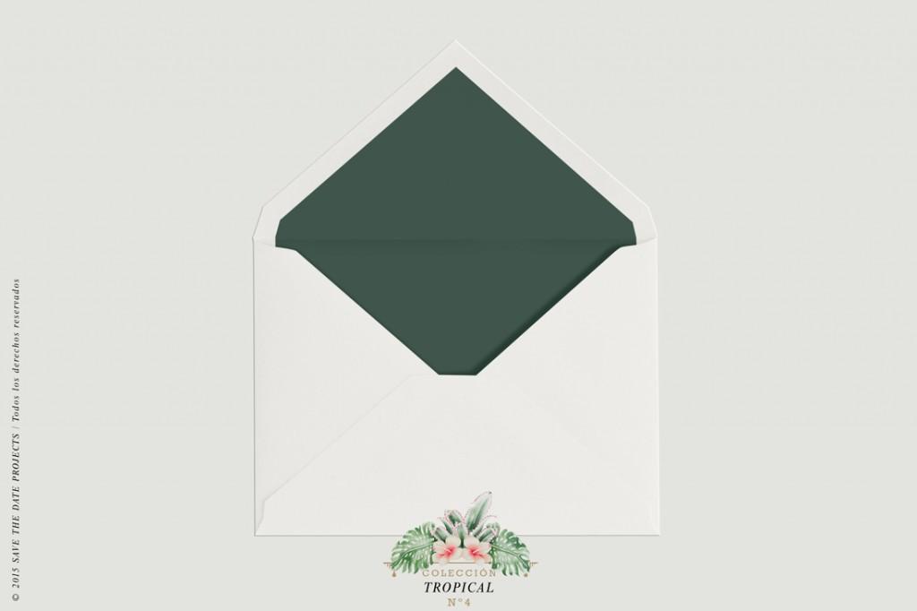 SOBRE-BLANCO-FORRO-VERDE-invitacion-tropical