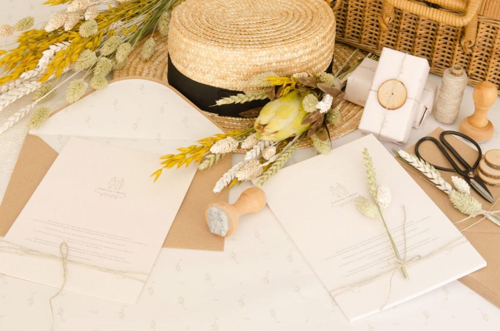 Sellos-de-caucho---Invitaciones-de-boda-campestre-rustica