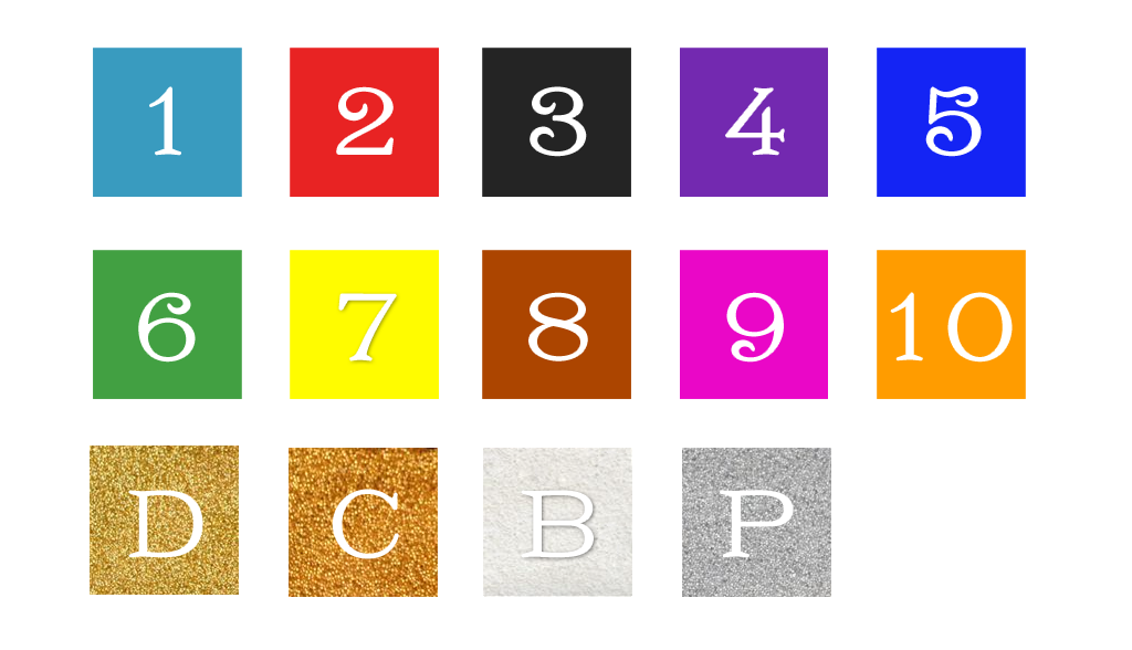 Sellos-de-caucho-colores