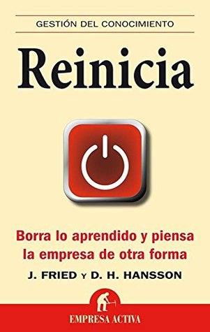 Reinicia libro recomendado por Save the date projects