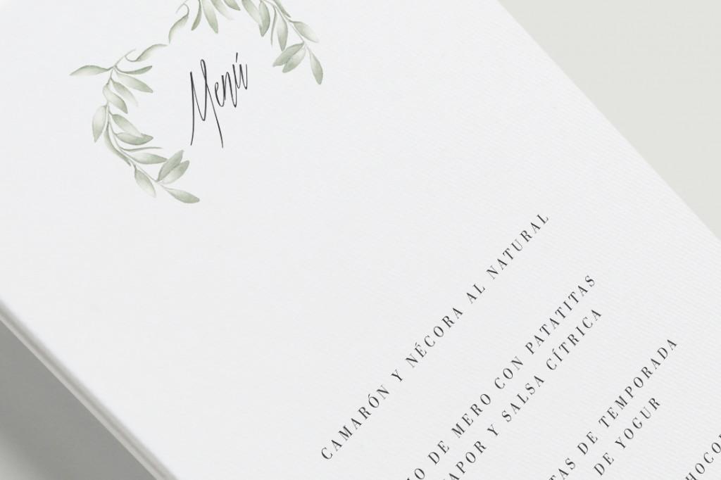 DETALLE-Menús de boda acuarela con olivos