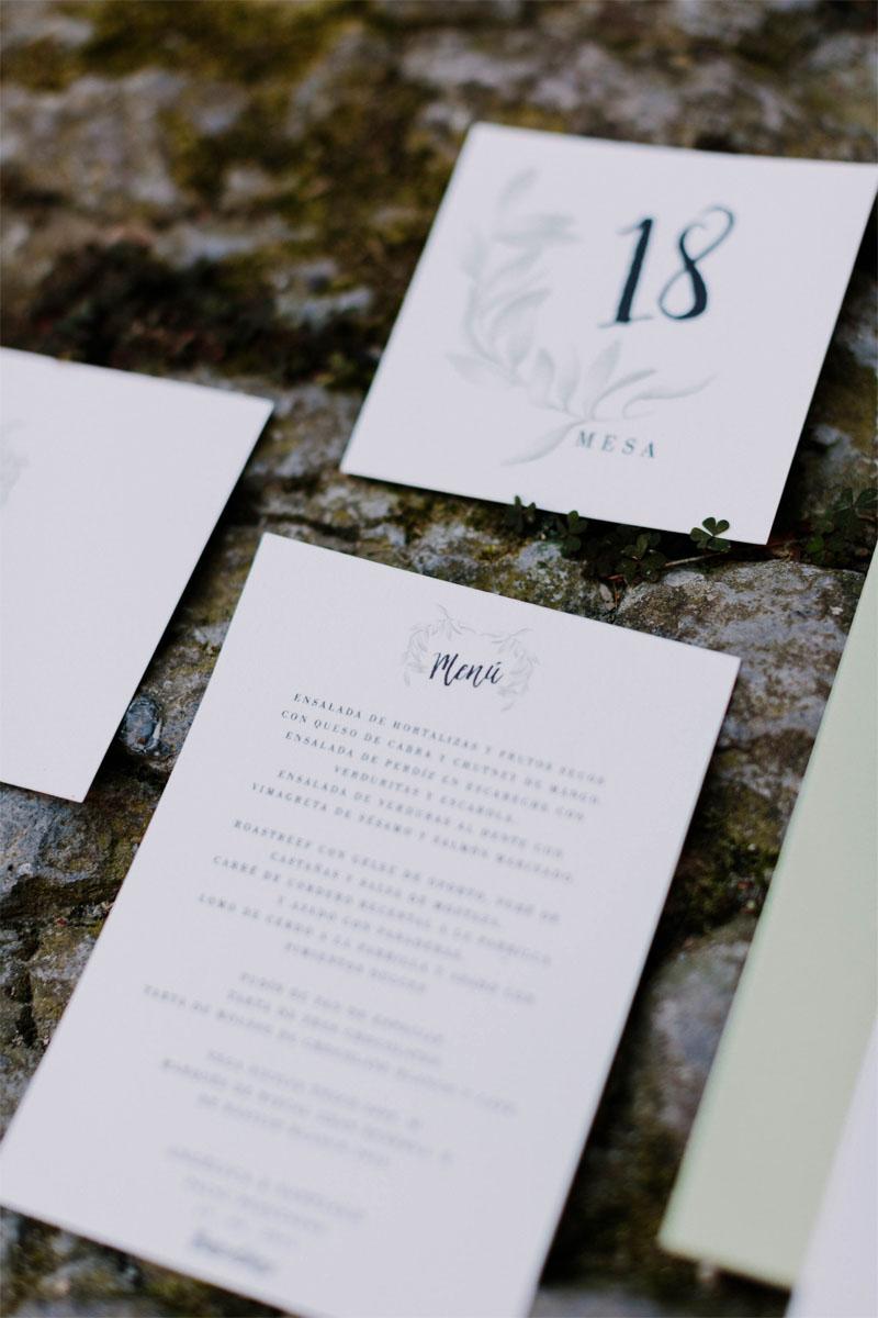 Menu de boda acuarela olivos -cuadrados- photos by Levi Tejerina_0003_Papeleria de boda acuarela olivo fotos by levi