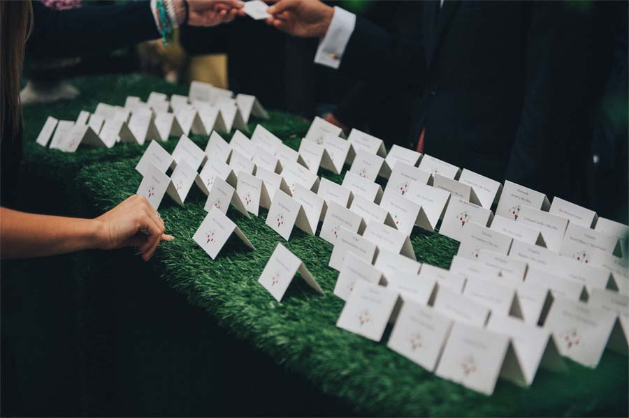 Papelería de boda personalizada