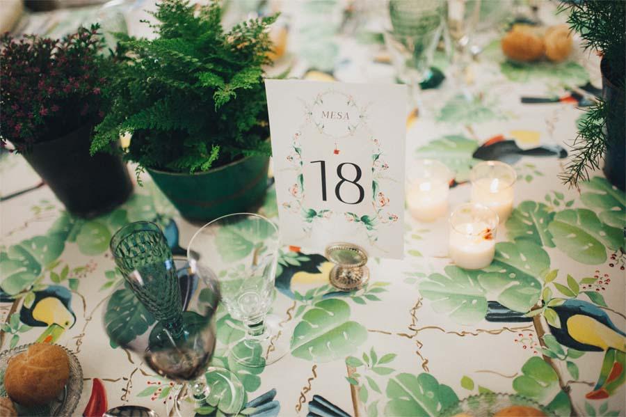 Meseros o numeros de mesa personalizados