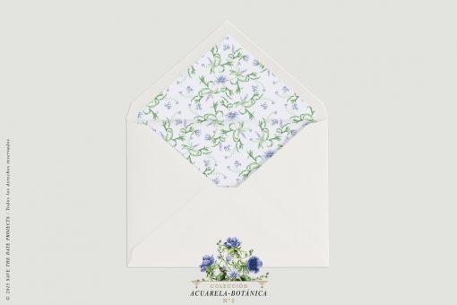 sobre-blanco-con-forro-invitaciones-de-boda-acuarela-botanica-2