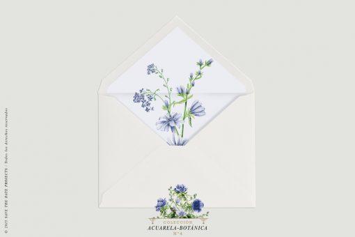 sobre-blanco-con-forro-invitaciones-de-boda-acuarela-botanica-4