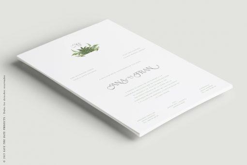 invitacion helechos clasica a5 vert