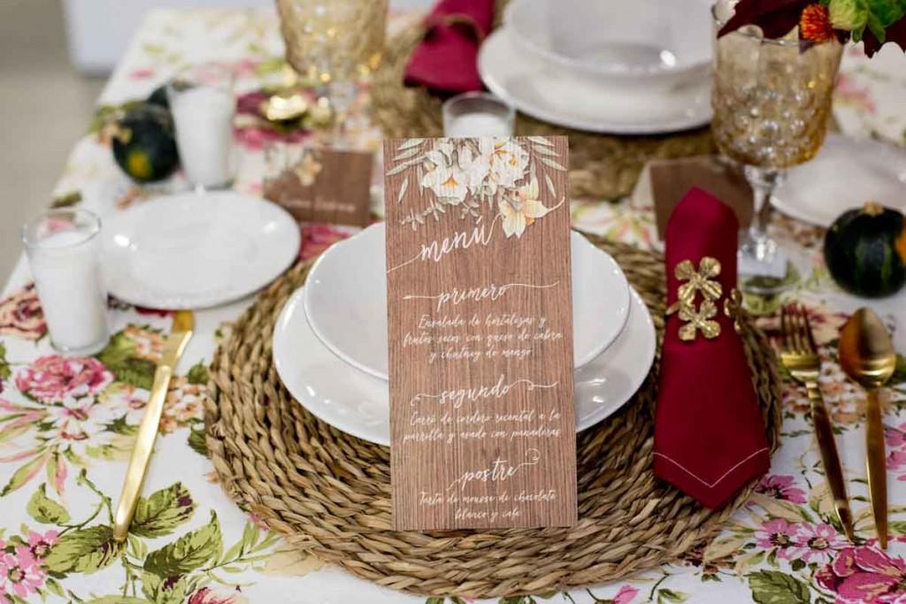 Invitaciones de boda rustica y campestre madera - Fotos Click 10