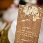 Invitaciones de boda rustica y campestre madera - Fotos Click 10-12