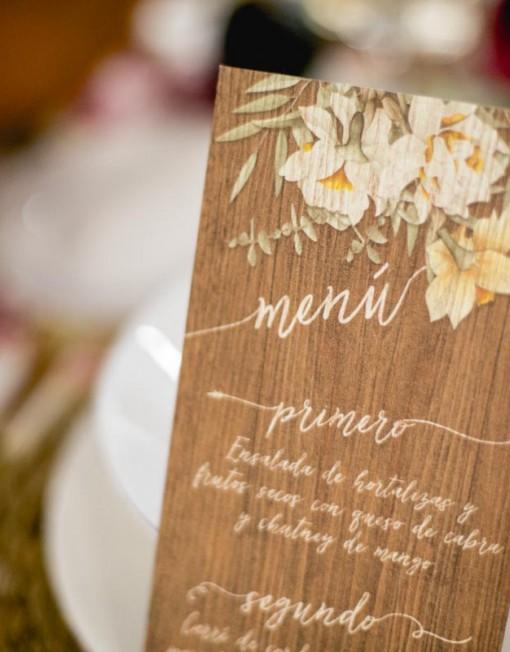N meros de mesa madera para boda r stica - Fotos de bodegas rusticas ...