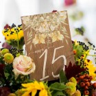 Invitaciones de boda rustica y campestre madera - Fotos Click 10-4