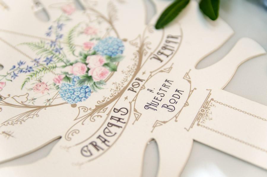 Invitaciones de boda personalizadas al seating plan - tu papelería de boda original - Paola y Christian-11