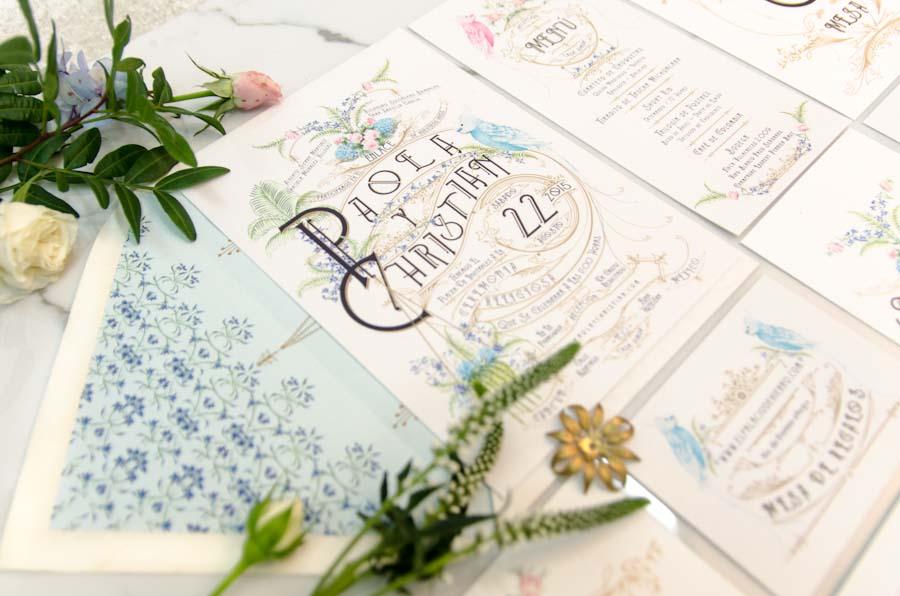 Invitaciones de boda personalizadas al seating plan - tu papelería de boda original - Paola y Christian-15