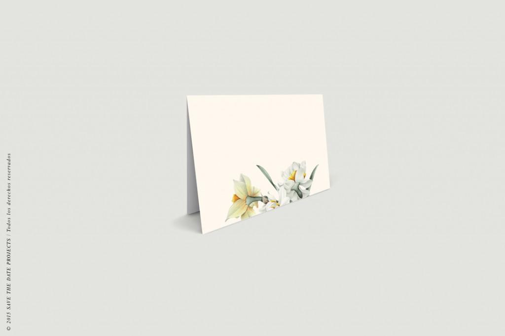 invitaciones-de-boda-romantica-narcisos-marca-sitios