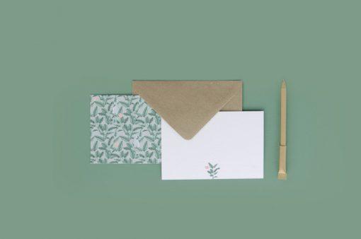 Detalles de boda agradecimiento en acuarela regalo - ilustracion platanera acuarela (1)