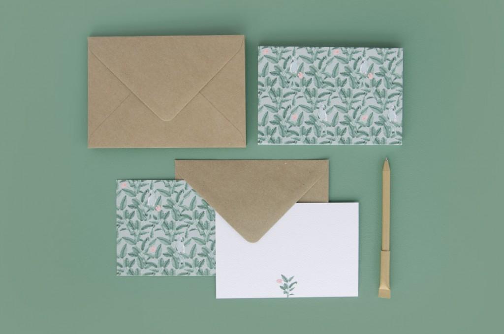 Detalles de boda agradecimiento en acuarela regalo - ilustracion platanera acuarela (2)