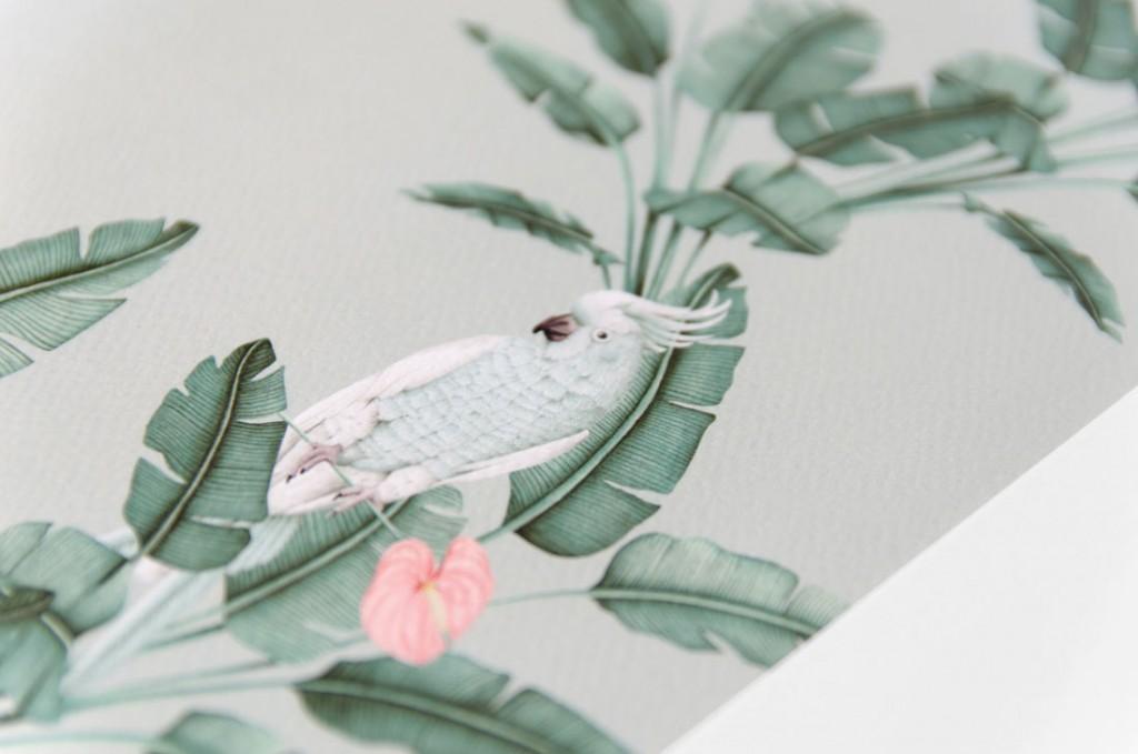 Detalles de boda laminas en acuarela regalo - ilustracion platanera acuarela (1)