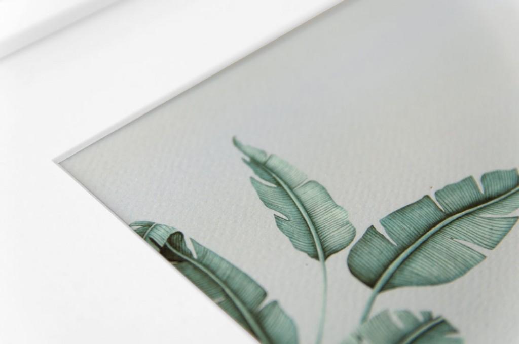 Detalles de boda laminas en acuarela regalo - ilustracion platanera acuarela (2)