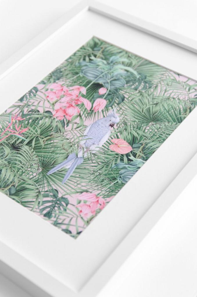 Detalles de boda originales lamina pattern decoracion- Coleccion Selva Acuarela (3)