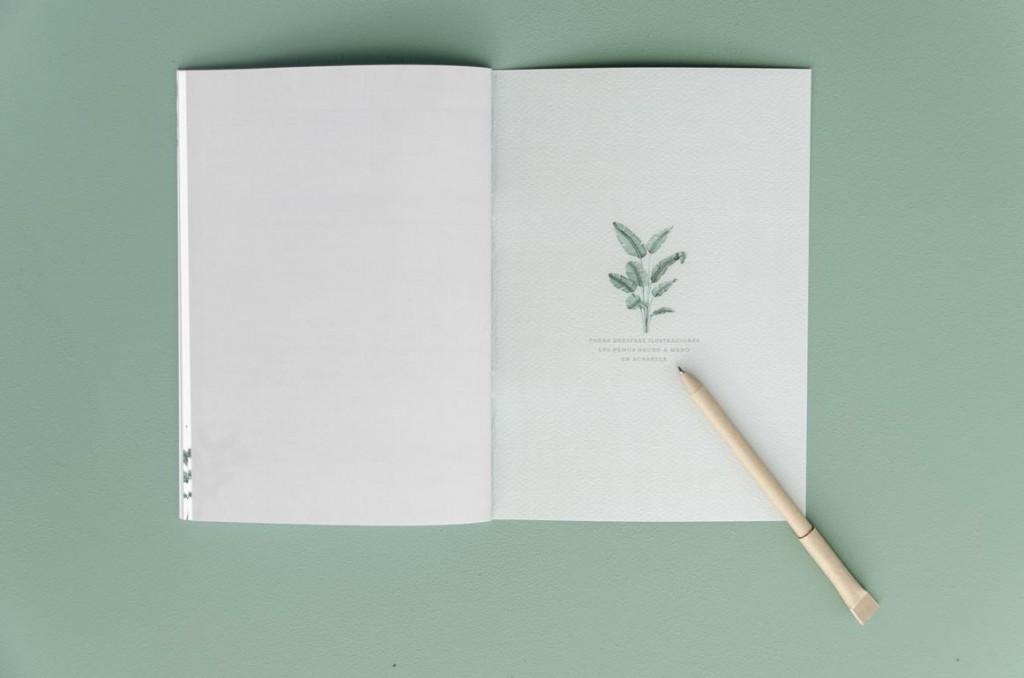 Detalles de boda originales libretas regalo dibujo acuarela - Coleccion platanera (28)