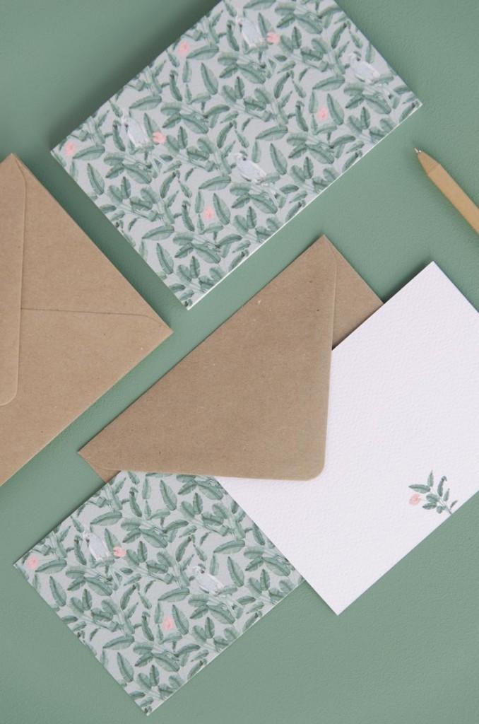 Detalles de boda originales tarjetas agradecimiento - Coleccion platanera (7)