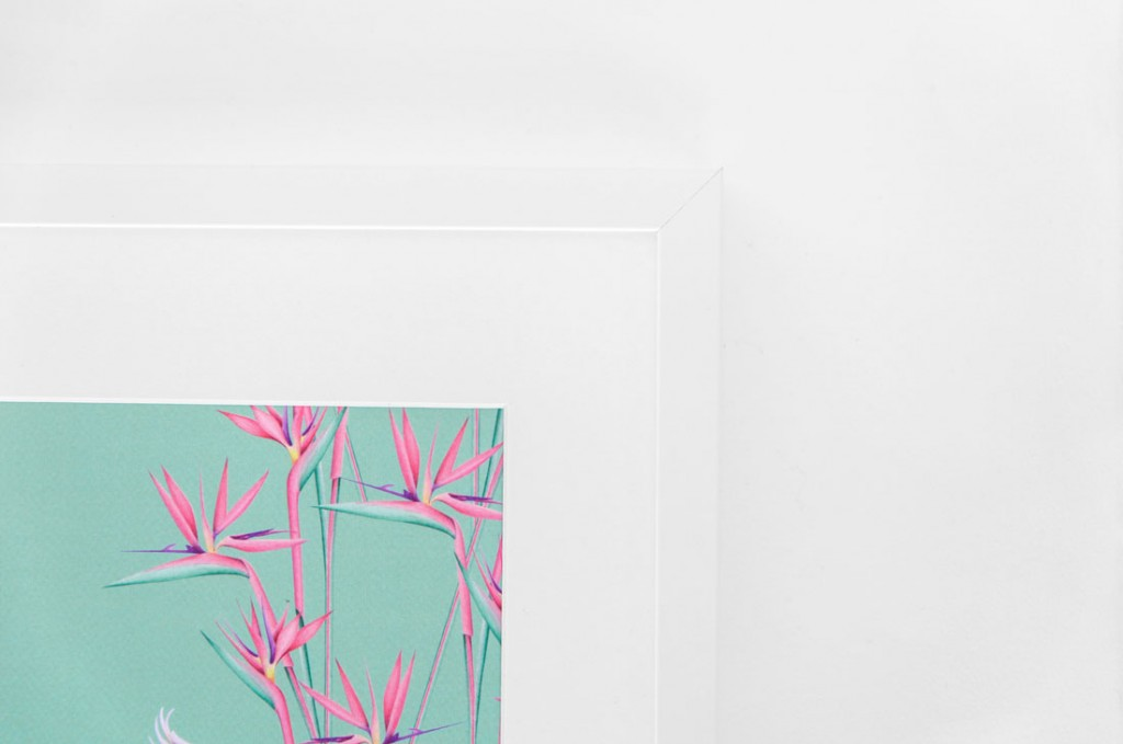 Detalles de boda papeleria lamina decorativa loro y flor pasion acuarela (11)