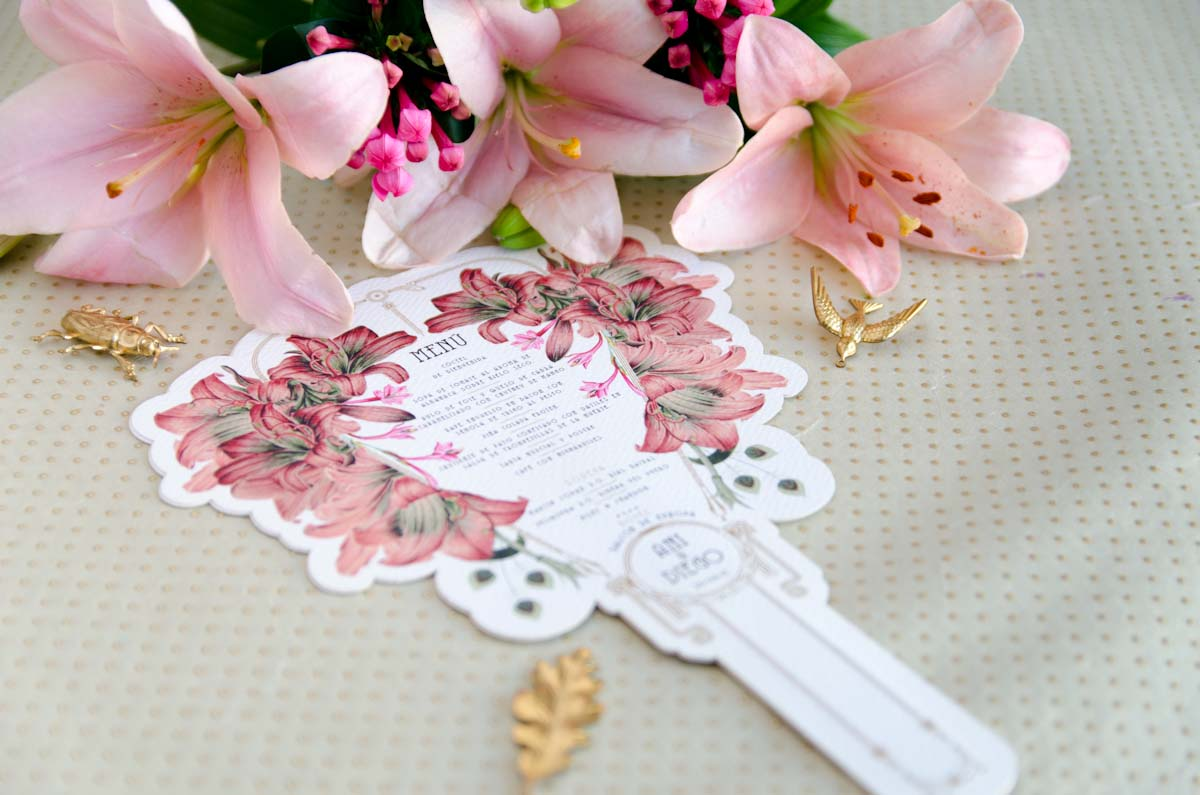 Invitaciones de boda acuarela Gatsby - papeleria completa - seating - pai pai-31