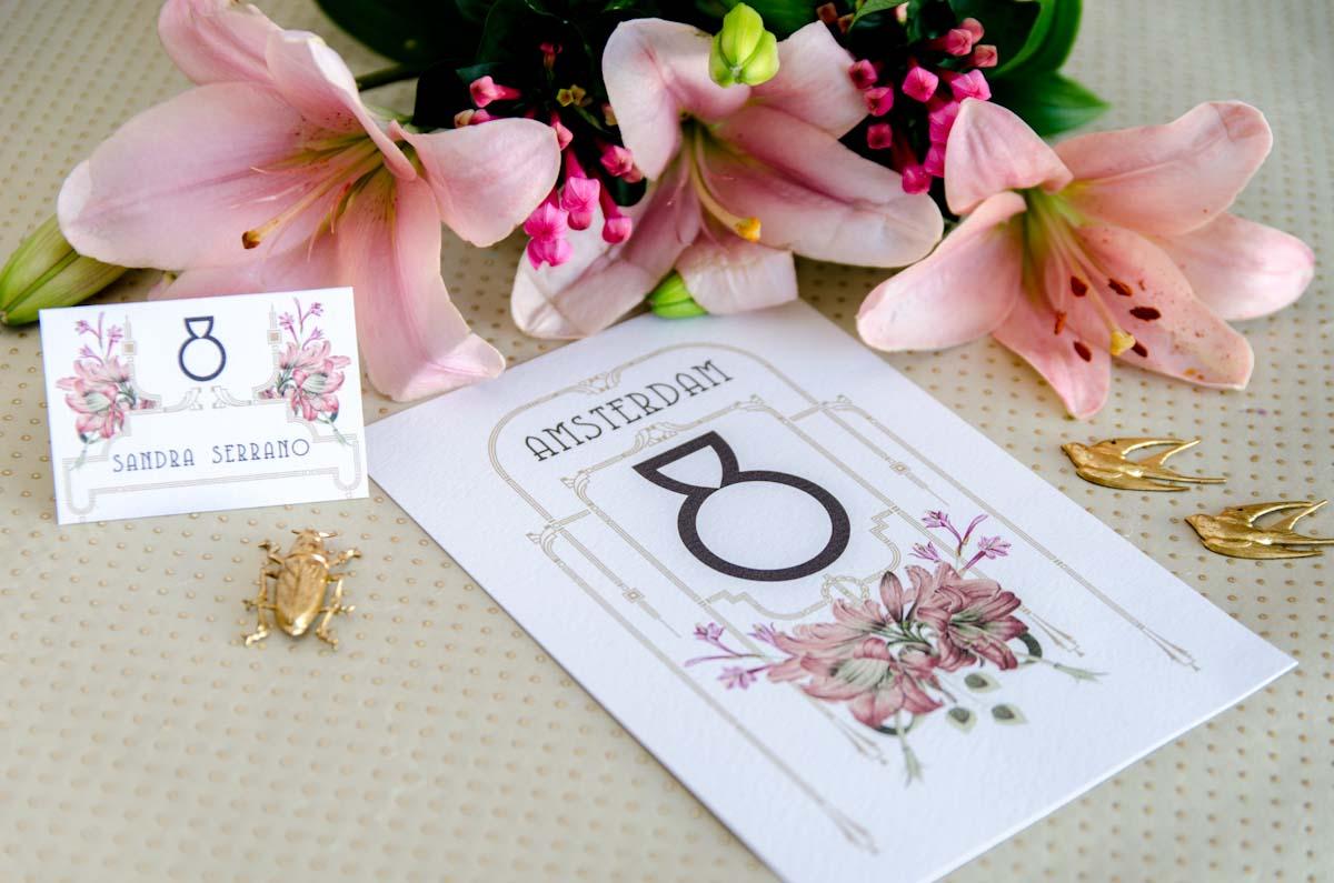 Invitaciones de boda acuarela Gatsby - papeleria completa - seating - pai pai-32