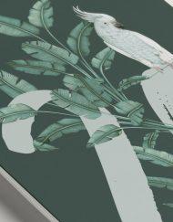 meseros-de-boda-acuarela-TROPICAL-PLATANERA-verde-oscuro-DETALLE