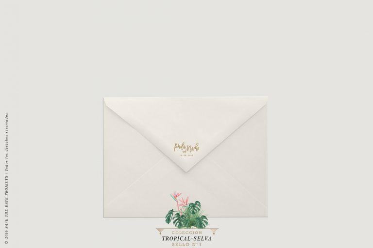 sello-de-caucho-invitaciones-de-boda-acuarela-TROPICAL-SELVA-1