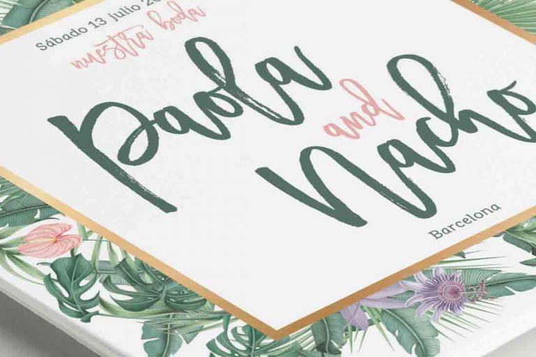 invitaciones-de-boda-acuarela-TROPICAL-SELVA-blanca-dorado-CUADRADA-ANV-DETALLE