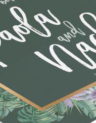 invitaciones-de-boda-acuarela-TROPICAL-SELVA-verde-oscuro-dorado-CUADRADA-ANV-DETALLE