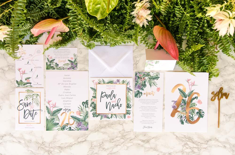 invitaciones-de-boda-Madrid-tropical-acuarela-plantas-botanicas-3198