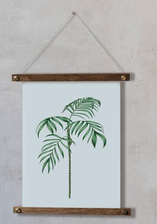 acuarela-botanica-tropical-enmarcada-decoracion-bastidor-vertical-suelto-ravenea