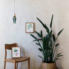 acuarela-botanica-tropical-enmarcada-decoracion-marco-medinilla-ravenea
