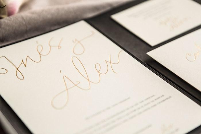 Invitaciones de boda doradas-Contacones by Romer Amado (3)