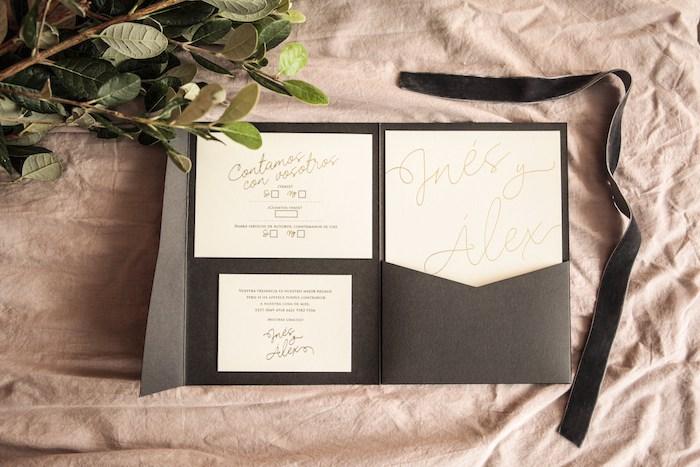 Invitaciones de boda doradas-Contacones by Romer Amado (7)